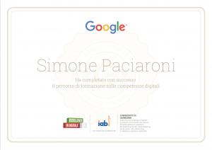 Simone-Paciaroni-Google-Digital-Certificate