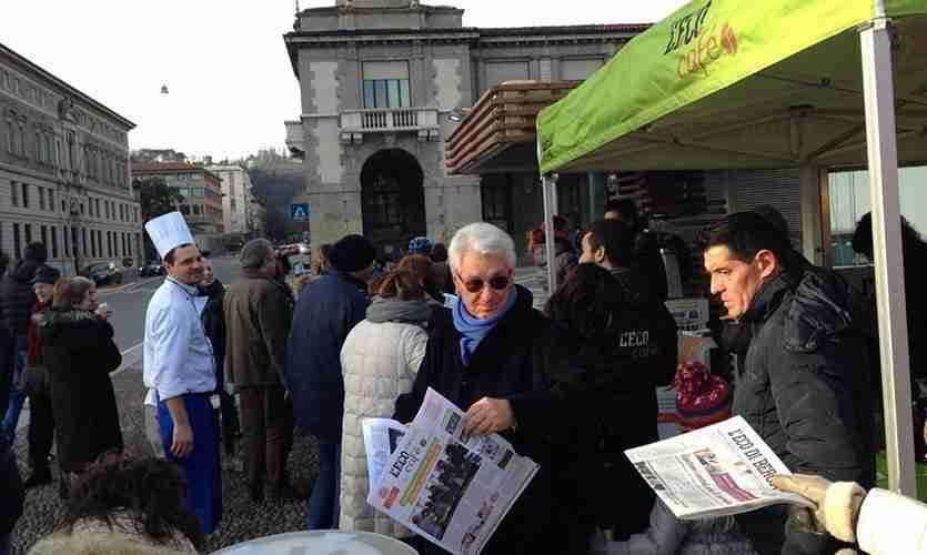L'Eco Café Tour. L'Eco di Bergamo incontra i suoi lettori e parla di Expo Milano 2015