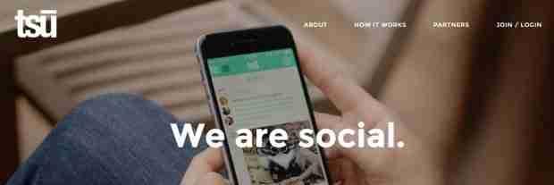 Tsū: il social che vi paga per postare
