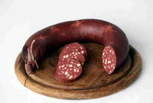 Flönz, la salsiccia nera della germania