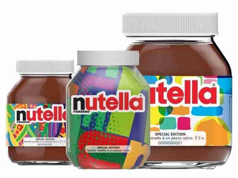 Vasetti unici Nutella